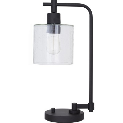 Hudson Industrial Desk Lamp - Black (Includes LED Bulb)- Threshold™
