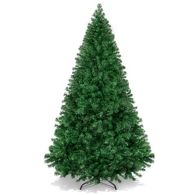 Best Choice Products 6ft Premium Hinged Artificial Christmas Pine Tree w/ 1,000 Tips, Metal Base