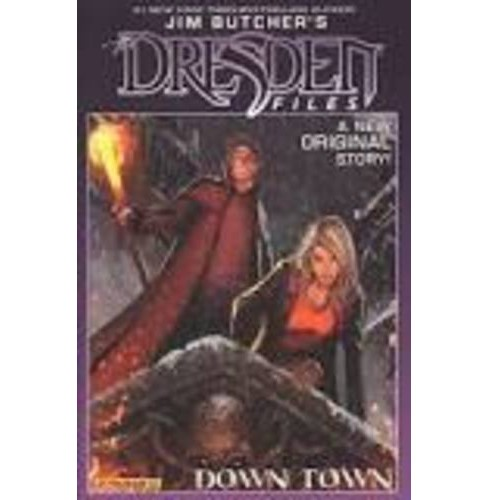 Jim Butcher's Dresden Files 1 : Down Town (Signed) (Hardcover) (Jim Butcher & Mark Powers) - image 1 of 1