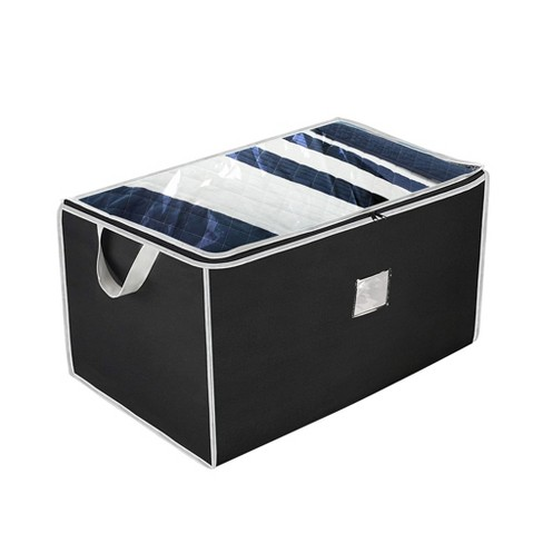 OSTO 2-Pack Large Seasonal Storage Organizer; Accessory Storage Bag for Bedding, Blanket, Comforters, and Seasonal Clothes; 29 Inch - image 1 of 4