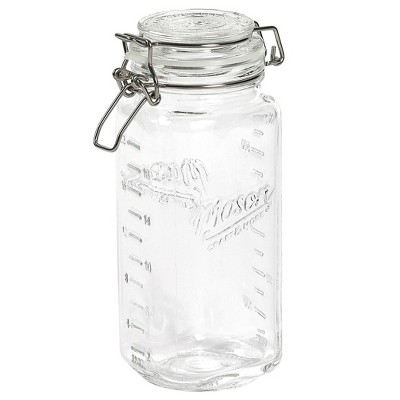 Mason Craft & More 22oz Set of 4 Mini Clamp Jars