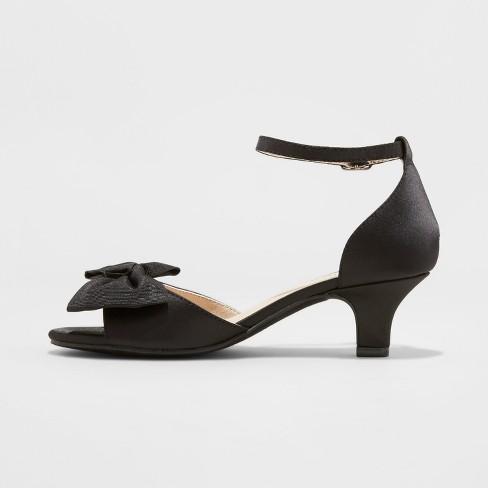 8c18efdc0aa Girls  Stevies  SHOOTINGSTAR Dressy Ankle Strap Sandals - Black   Target