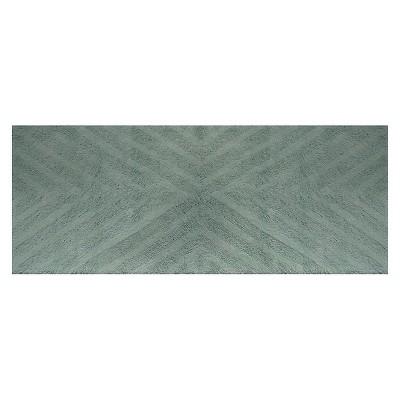 Textured Stripe Bath Rug Runner (23 X58 )Moonlight Jade - Project 62™ + Nate Berkus™