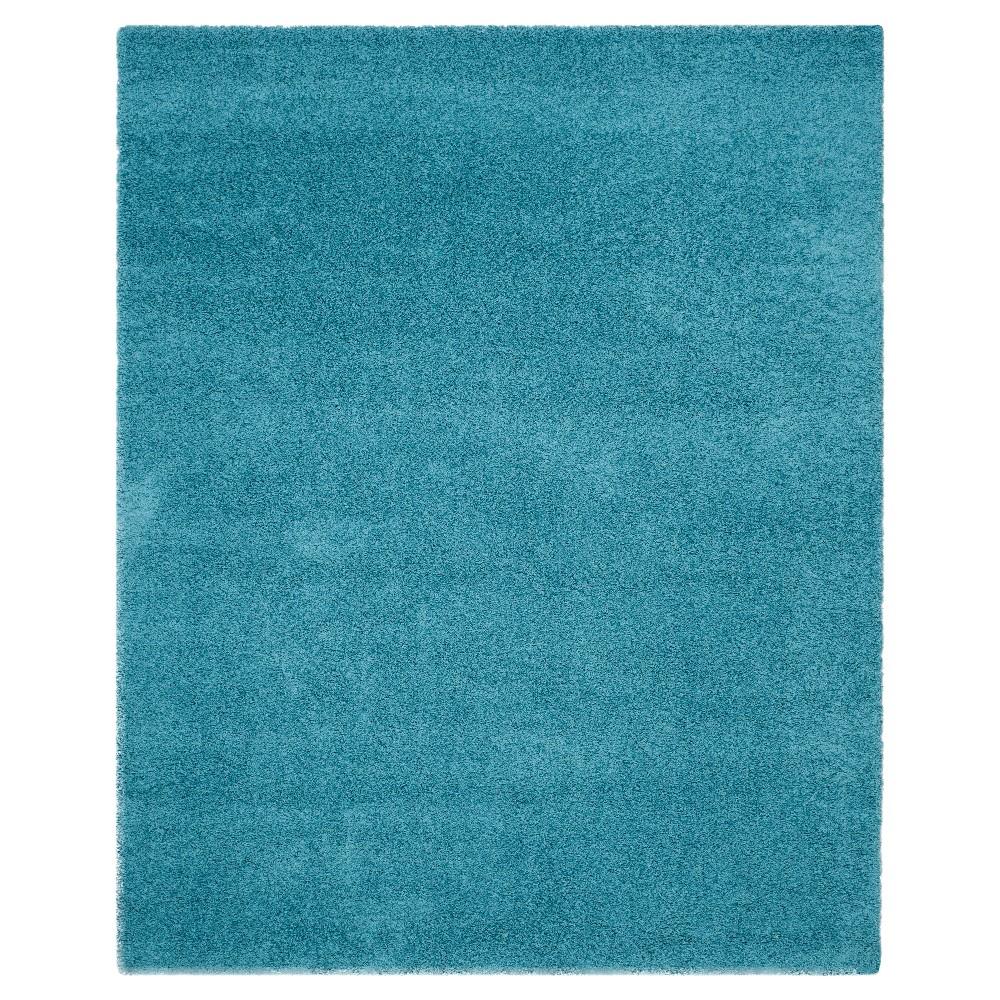 Best Price Laguna Shag Rug Turquoise 86X12 Safavieh
