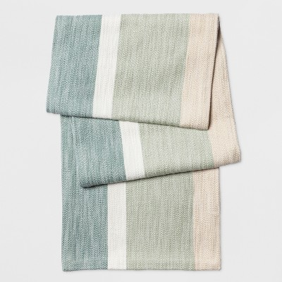 72 x14  Modern Color Block Runner Green - Project 62™