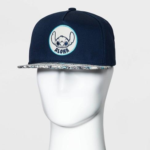 Men's Disney Stitch Aloha Baseball Cap - Navy One Size - image 1 of 3