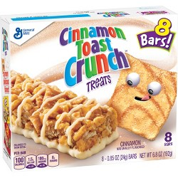 Cinnamon Toast Crunch Flavored Cinnamon Bars 8ct / .85oz