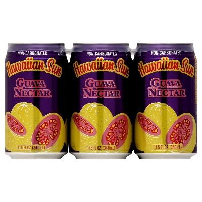Hawaiian Sun Guava Nectar - 6pk/11.5 fl oz Cans