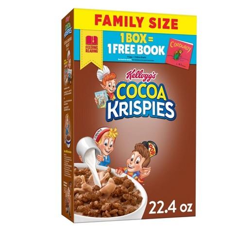 Cocoa Krispies Breakfast Cereal - 22.4oz - Kellogg's - image 1 of 4