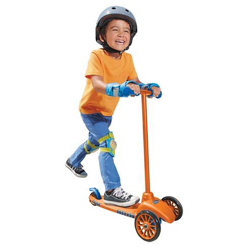 Little Tikes Lean To Turn Scooter- Orange/ Blue - image 1 of 5