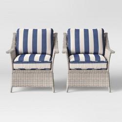 Bar Harbor 2pk Patio Club Chair - Threshold™