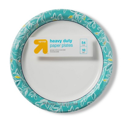 "Multi Vine Paper Plate 10"" - 54ct - up & up™"