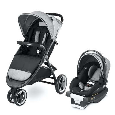 Evenflo Gold Verge3 Smart Travel System with SecureMax ICS