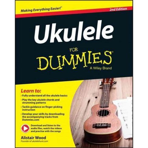 Ukulele for Dummies (Paperback) (Alistair Wood) : Target