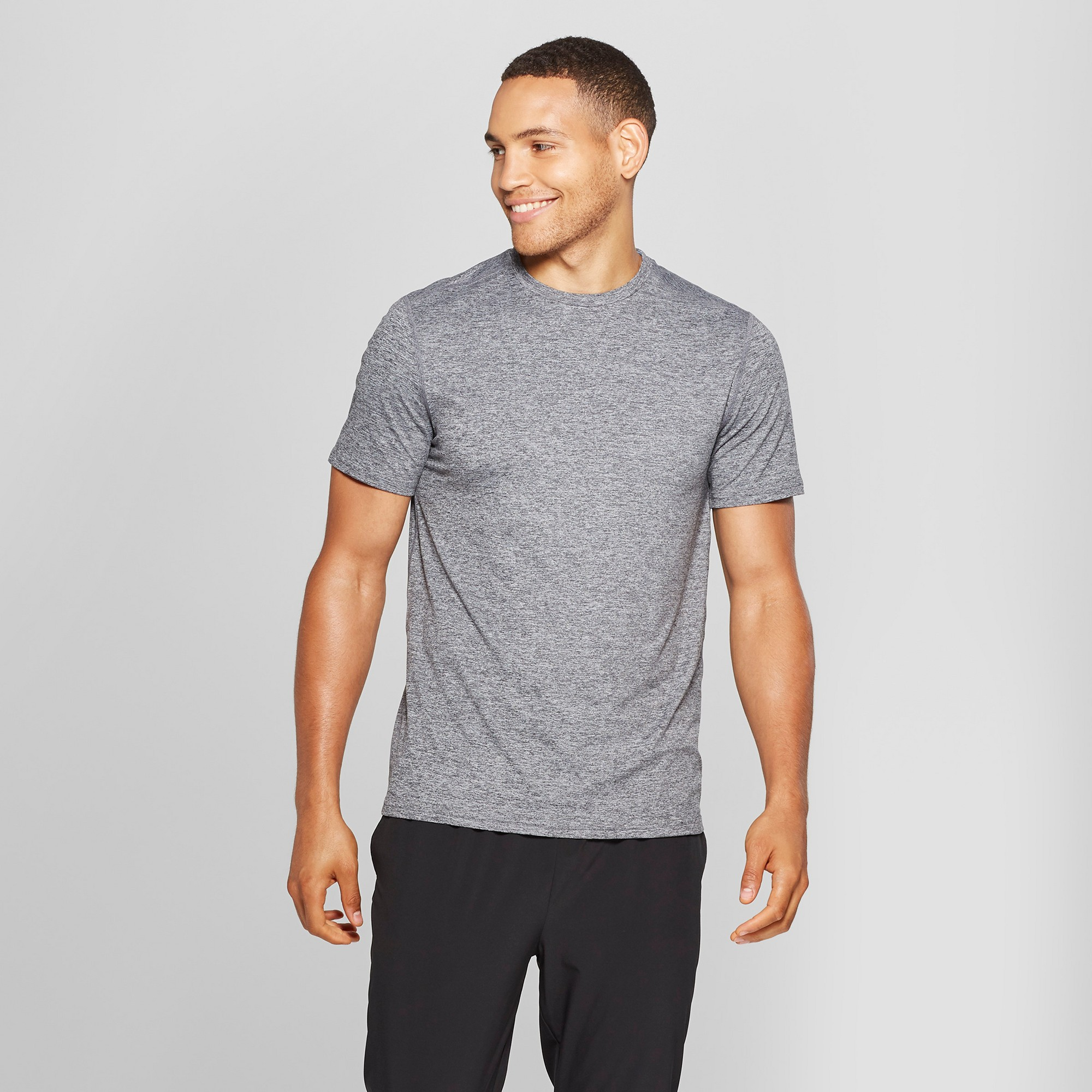 Men's Tech T-shirt - C9 Champion Black Heather XL