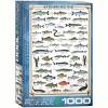 Eurographics Inc. Freshwater Fish 1000 Piece Jigsaw Puzzle - image 3 of 4