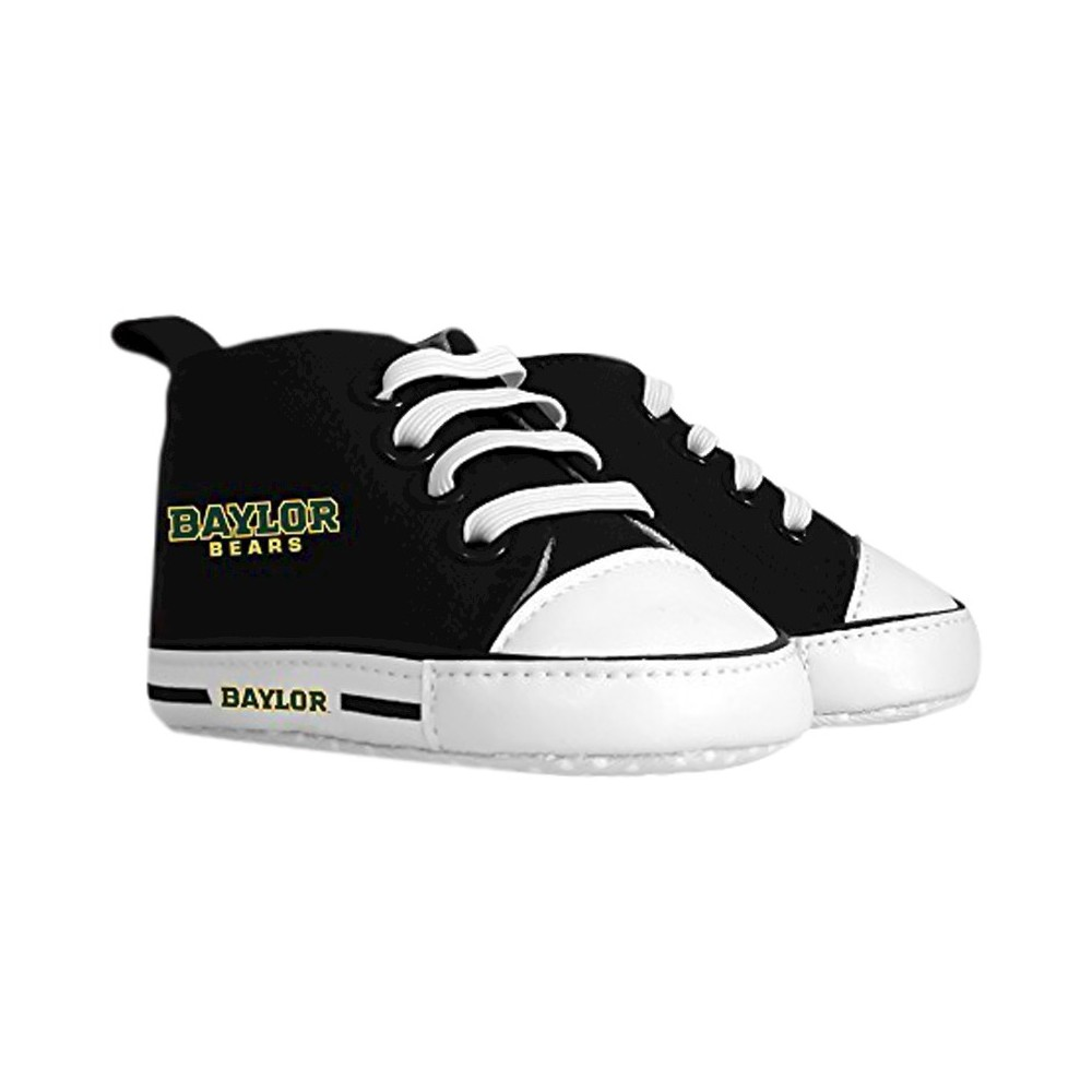 Imn Shoes Child Crib Shoes NCAA Baylor Bears 0-6 M, Kids Unisex, Size: 6 M