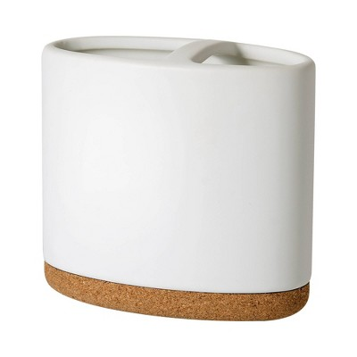 Beringer Toothbrush Holder White - Allure Home Creations