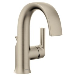 Moen S6910 Doux 1.2 GPM Single Hole Bathroom Faucet