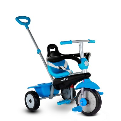 smarTrike Breeze 3 in 1 Multi Stage Toddler Tricycle for 1, 2, 3 Year Olds