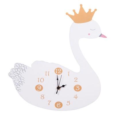 Trend Lab Wall Clock Swan - Pink