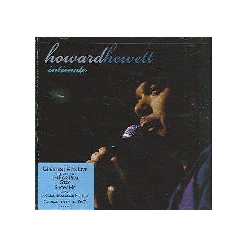 Howard Hewett - Intimate: Greatest Hits Live (CD) - image 1 of 1