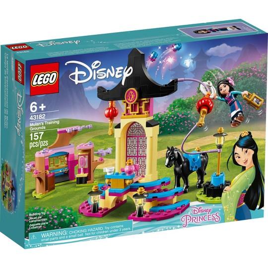 LEGO Disney Mulan's Training Grounds 43182 Princess Building Playset image number null