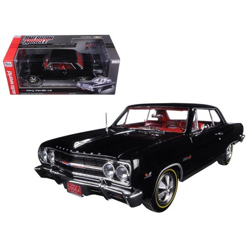 1965 Chevrolet Chevelle SS 396 Z-16 Black 50th Engine Anniversary Limited Edition to 1002pcs 1/18 Diecast Model Car by - image 1 of 1