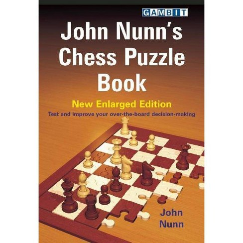 John Nunn's Chess Puzzle Book - (Paperback) - image 1 of 1