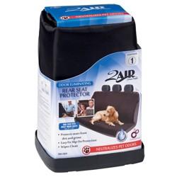 2 Air 1pc Custom Rear Seat Pet Protector Black