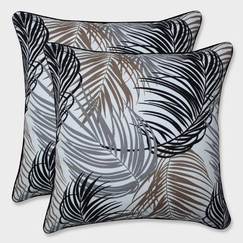 16 5 2pk Setra Stone Throw Pillows Black Pillow Perfect Target