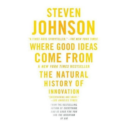 Where Good Ideas Come from - by  Steven Johnson (Paperback) - image 1 of 1