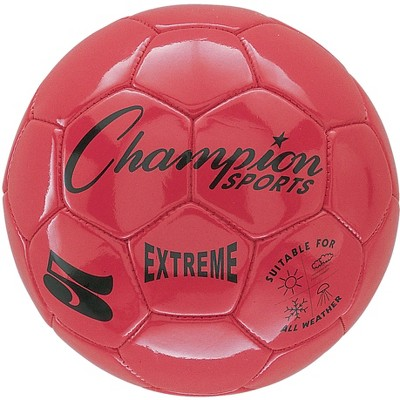 Champion Extreme Series Soccer Ball, Size 5, Red