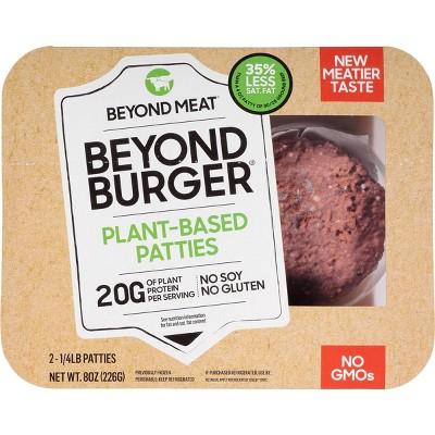 Beyond Meat Beyond Burger Plant-Based Patties - 8oz/2ct