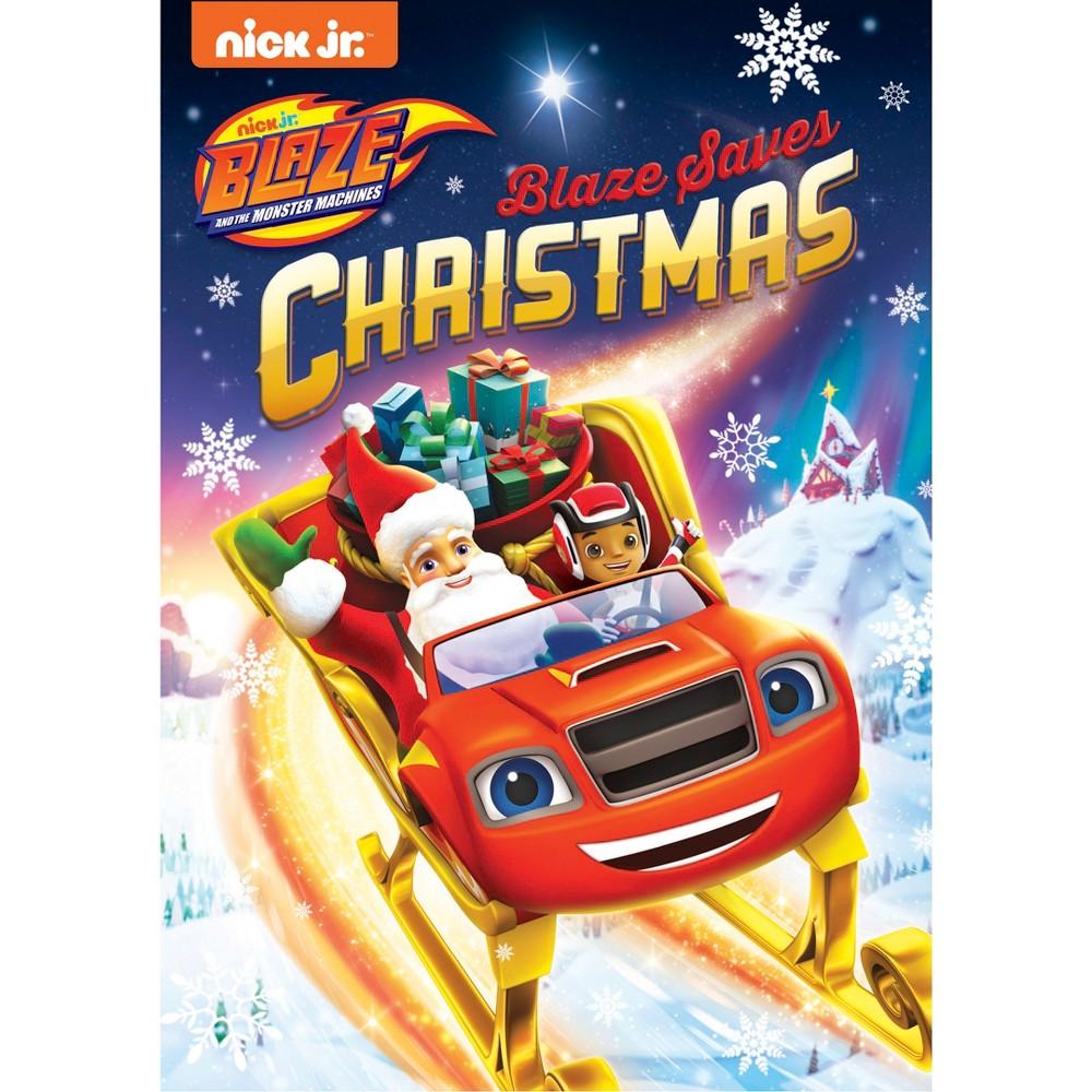 Blaze and the Monster Machines: Blaze Saves Christmas (Dvd)