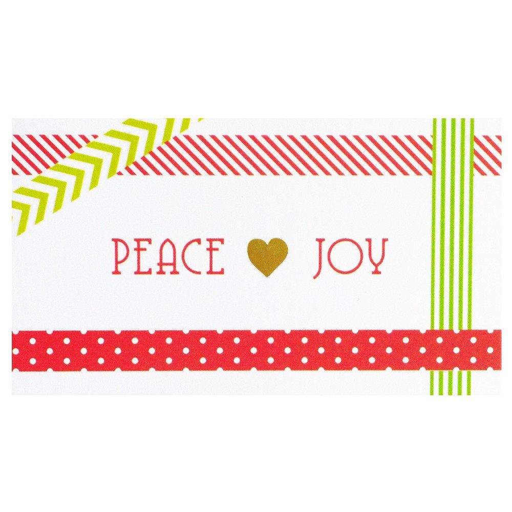 Image of Peace & Joy Gift Tag