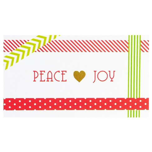 Peace & Joy Gift Tag - image 1 of 1