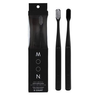Moon Soft Bristle Toothbrush - 2pk