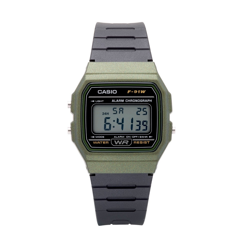 Men's Casio Digital Sports Watch - Black/Green, Adult Unisex, Size: Small