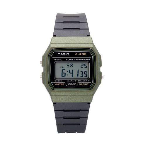 00eabf3103 Men's Casio Digital Sports Watch - Black/Green