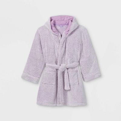 Girls' Faux-Fur Robe - art class™ Purple