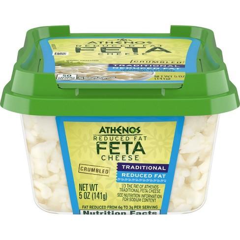 Athenos Reduced Fat Feta Cheese - 5oz - image 1 of 4