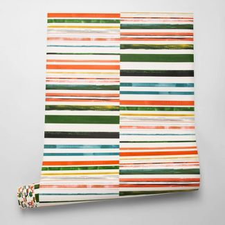 Colored Stripes Wallpaper - Opalhouse™