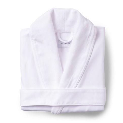 Platinum Bath Robe S/M White - Cassadecor - image 1 of 3