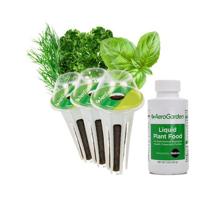 3-Pod Gourmet Herbs Seed Pod Kit