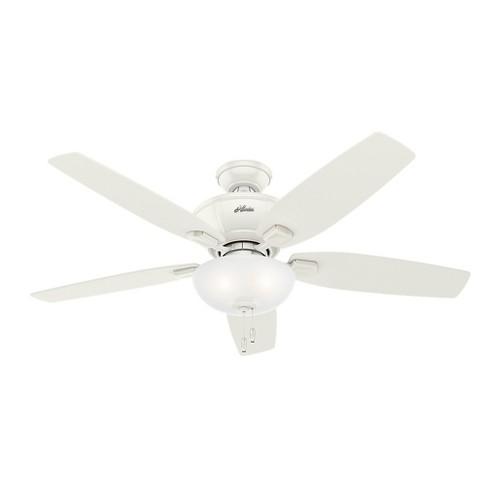 """52"""" Kenbridge Fresh LED Lighted Ceiling Fan Fresh White - Hunter Fan - image 1 of 4"""
