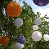 """6ct Size 12"""" 14"""" 16"""" Paper Lanterns Orange - image 2 of 4"""
