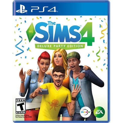 The Sims 4 Deluxe Party Edition - PlayStation 4 - image 1 of 8