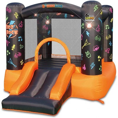 Bounceland Kidz Rock Bounce House with Lights and Sound