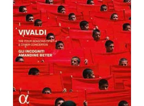 Gli Incogniti - Vivaldi:Four Seasons Op 8 1-4 (CD) - image 1 of 1